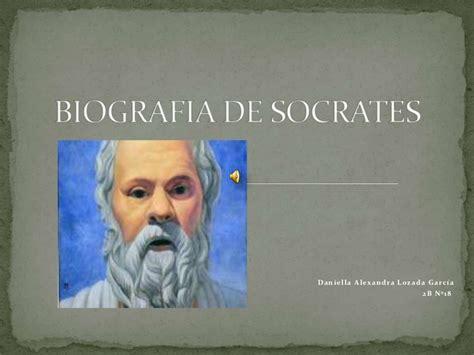 biografia socrates resumen biografia de socrates
