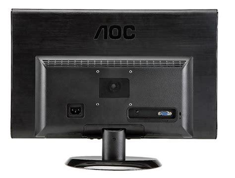 Monitor Murah Monitor Led Aoc E970sw monitor aoc led e970sw widescreen 18 5 quot no paraguai comprasparaguai br