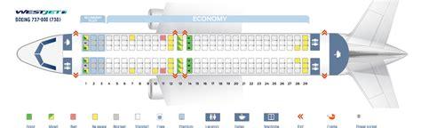 boeing 737 300 plan si鑒es boeing 737 300 seating chart images