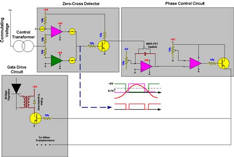 scr firing circuit diagram experiment 3 thyristor rectifiers