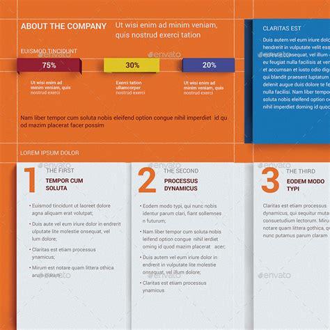 diez 3d elements brochure template by templatesbravo