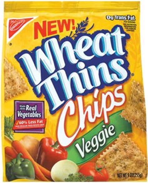Wheat Thins Chips Veggie Junk Food Blog Wheat Thins Garden Vegetable