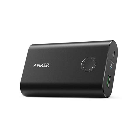 Anker Powercore 10050 Mah With Charge 30 Power Bank Silver anker powercore 10050mah qc 3 0 powerbank mobilladdare