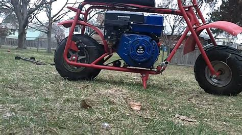 doodlebug mini bike upgrade 6 5 hp baja doodlebug mini bike