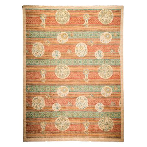 peach bathroom rugs darya rugs arts peach 9 ft x 11 ft 9 in indoor area rug