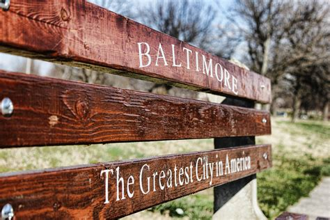 baltimore greatest city in america bench baltimore is the greatest city in america by darkphoenix36