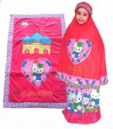 Mukena Anak Hk Kimono Pink Xl perlengkapan shalat