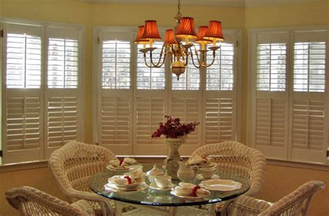 Dining Room Curtains by Plantation Shutters Versatile Window Treatment