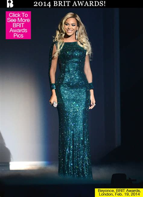 Pics beyonce s brit awards dress see her stunning sparkling