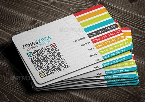 qr code business card template 25 qr code business card templates web graphic design