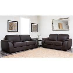 Free Living Room Set Montclair Top Grain Leather Sofa And Loveseat Set Sam S Club