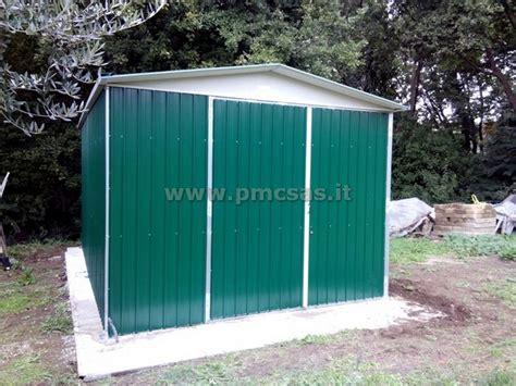 box giardino lamiera box in lamiera roma pmc prefabbricati e arredo giardino