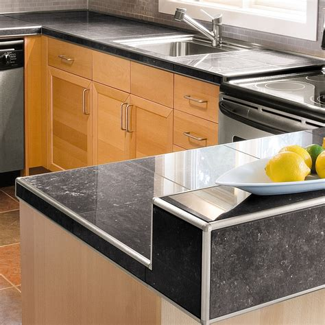 Schluter Countertop System contemporary kitchen schluter ca