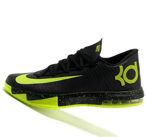 nike kevin durant shoes nike kd6 kevin durant fluorescent black history basketball