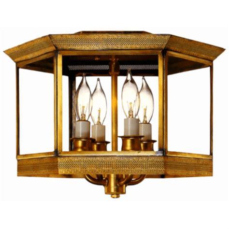 copper flush mount ceiling lights princeton colonial copper lantern ceiling light for sale