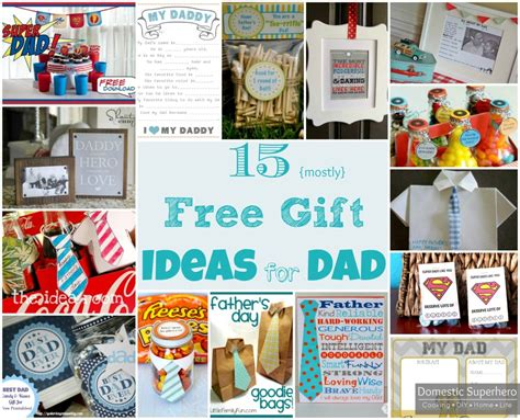 Fathers Day Gift Ideas Give Him A Great Gift And Help An Important Cause by 15 Mostly Free Gift Ideas For Domestic