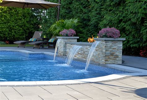 Unilock Pavers Dealer A Poolside Oasis In Long Island Ny Features Unilock S