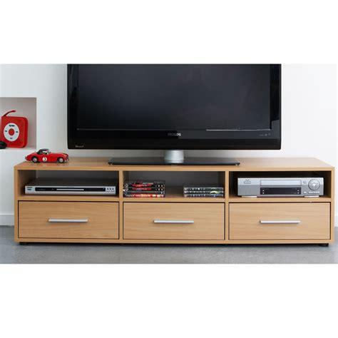 meuble tv 233 cran plat 3 tiroirs citizen h 234 tre