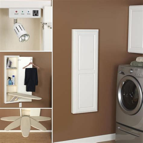 ironing board wall cabinet 25 best ideas about ironing board storage on