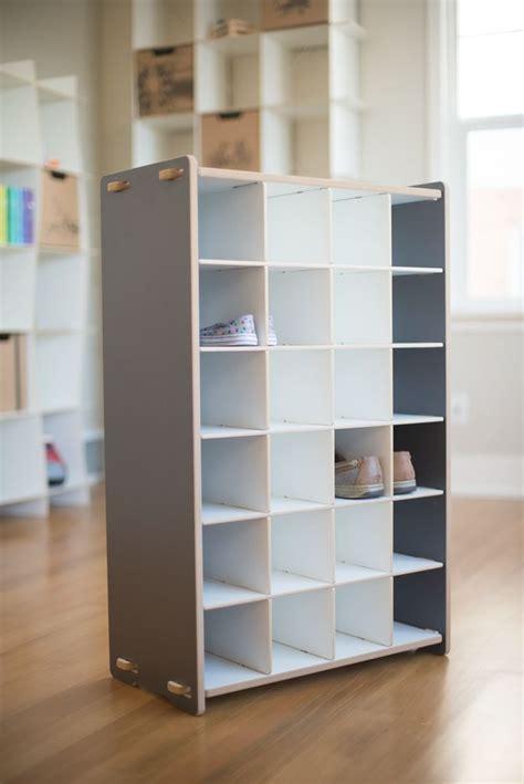 childrens shoe storage best 25 shoe rack ideas on wall shoe