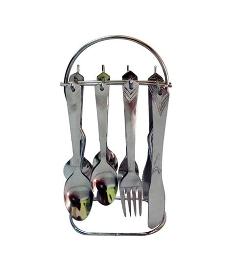 cutlery set with stand fancy center stainless steel designer cutlery set with