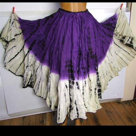 Batik Ethnic Skirt tribal skirt batik shaila