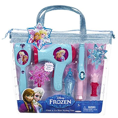 Frozen Hair Dryer frozen hair styling tote playset health personal care care tools dryers