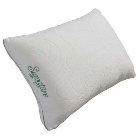 protect a bed zefiro memory foam firm pillow qvc com protect a bed firm shredded memory foam pillow with