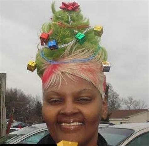 christmas tree girls hair do do s fifty state banana