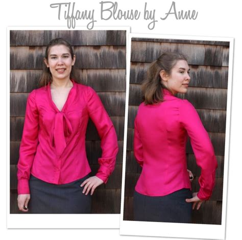 Tifany Blouse 1 blouse the fold line
