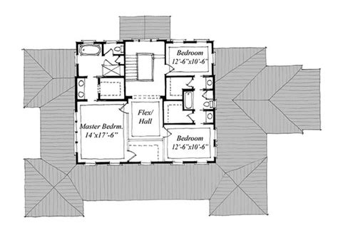 carolina house plans new carolina island house print coastal living house