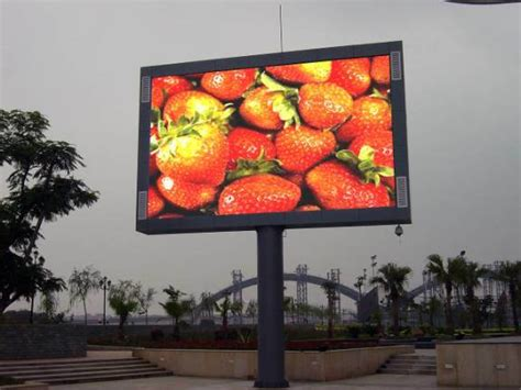 Led Outdoor Display china outdoor led advertising display screen p10