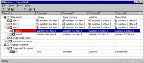 delphi tutorial listview supergrid yet another listview control codeproject