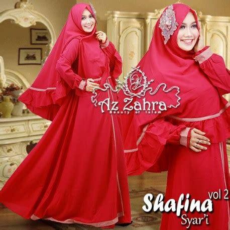 Exclusive Baju Menyusui Fanta Terlaris shafina 2 fanta baju muslim gamis modern