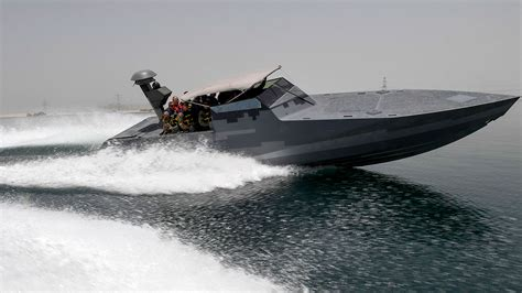 a high tech speedboat gives us navy seals a stealthy new - Navy Seal Small Boats