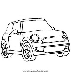 dibujos infantiles mini cooper para colorear imagui sketch template