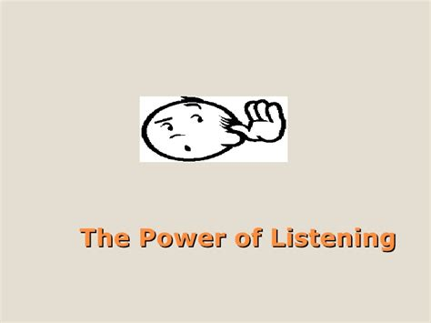 The Power Of Pre Knowing by The Power Of Listening