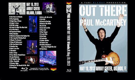 paul mccartney blu ray dvd    orlando