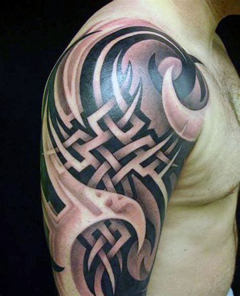 tribal half sleeve tattoos meanings top 60 best tribal tattoos for symbols of courage
