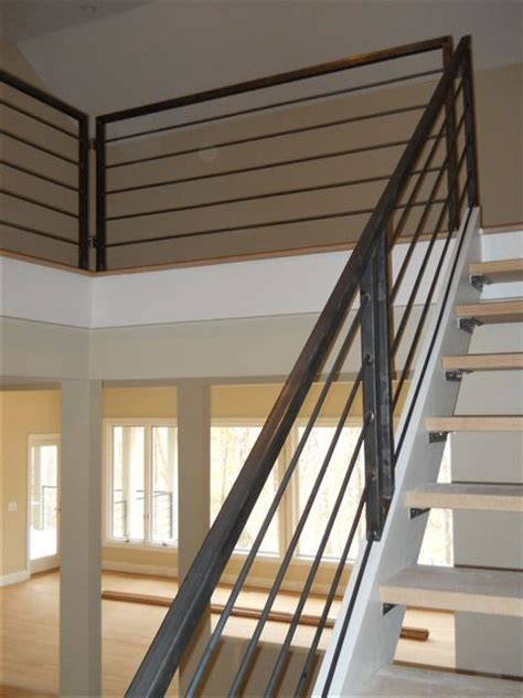 Treppenstufen Aus Metall by Metal Stair Rail Something Like This With A Wooden