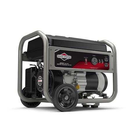 shop briggs stratton home 3500 running watt portable