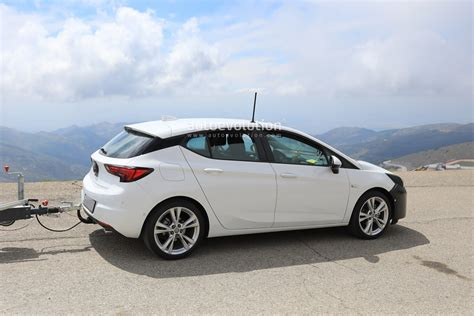 2019 Opel Astra by 2019 Opel Astra Facelift Spied Doing Some Towing