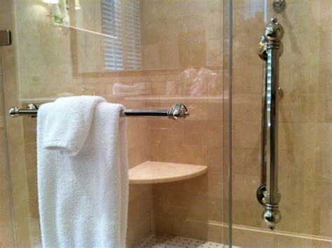 Towel Bars For Shower Doors Towel Bar For Glass Shower Door Decor Ideasdecor Ideas