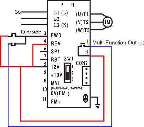help adding external controls to vfd