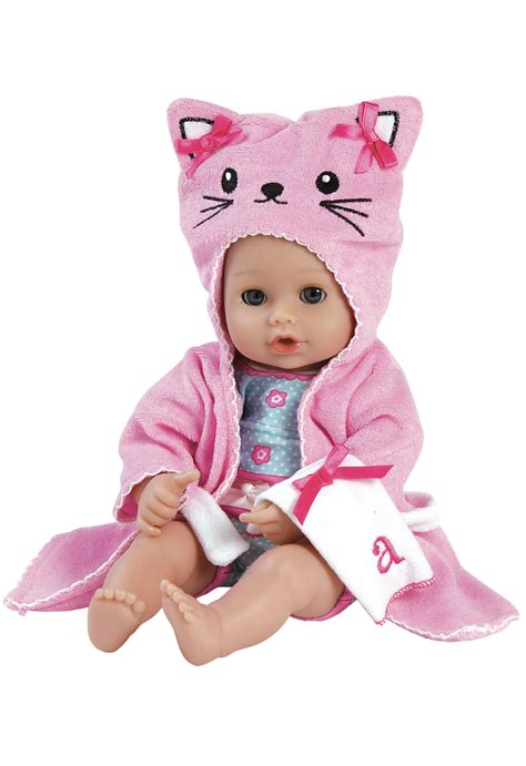 doll on 13 inch adora bathtime play baby doll soft vinyl