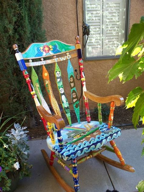 painted armchair painted chairs furniture pinterest