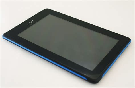 Tablet Iconia Acer acer iconia tab b1 pops up again in new images slashgear