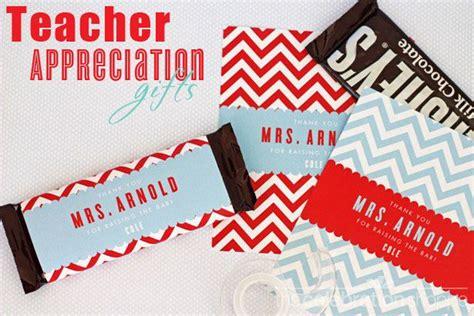 teacher appreciation day candy bar wrapper printables
