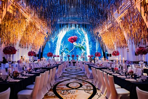 marriott party themes a and the beast inspired wedding at jw marriott singapore south