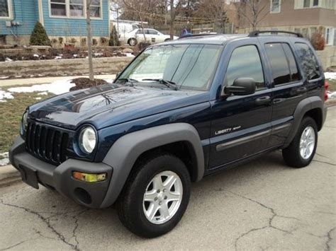 Jeep Liberty 2003 Type Sell Used 2003 Jeep Liberty Sport Sport Utility 4 Door 3
